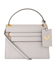 VALENTINO Small My Rockstud Grain Tote. #valentino #bags #shoulder bags #hand bags #leather #tote #