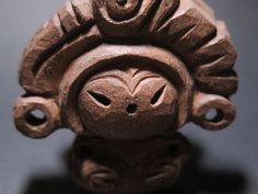 木彫り土偶