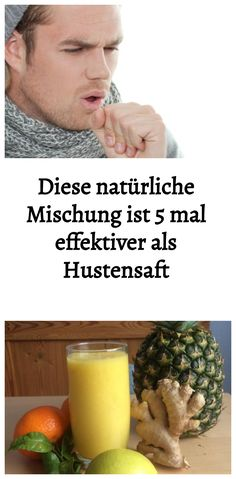 Diese natürliche Mischung ist 5 mal effektiver als Hustensaft Breakfast, Recovery, Food, Natural Health, Health And Fitness, Sore Neck Muscles, Cough Medicine, Health Benefits, Flu