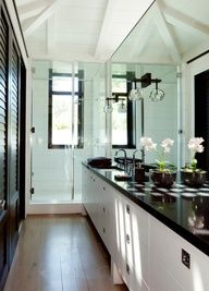 LOVE this bathroom! . Luscious bathroom. More lusciousness at www.myLusciousLife.com