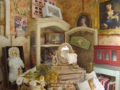 *♥ Atelier de Léa - Un Jour à la Campagne ♥*: Ma Poupée Bleue ─ Magasin de jouets anciens
