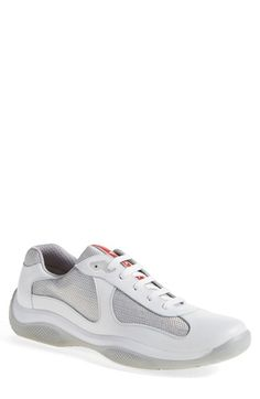 Prada 'Americas Cup' Sneaker (Men) available at #Nordstrom