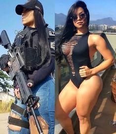 Curvy Girl Outfits, Female Soldier, Military Girl, Military Women, Girls Uniforms, Bikini Girls, Bikini Set, Hot Girls, Happy Girls