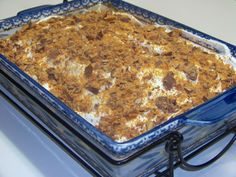 Butterfinger Chocolate Cake