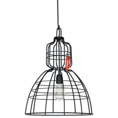 This crazy black lamp from the innovative brand Anne Lighting is a beautiful sight. Anne Markll this pendant will be fixed too crazy over the dining table. And