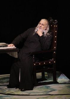 "Placido Domingo as Francesco Foscari in ""I Due Foscari"" LA Opera (September 2012)"