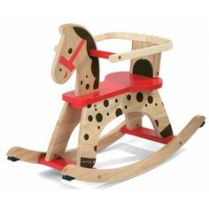 Buy Janod Caramel Rocking Horse from our Wooden Toys range at John Lewis & Partners. Toddler Toys, Kids Toys, Wooden Horse, Educational Toys For Kids, Learning Toys, Wood Toys, Rocking Chair, Rocking Horses, Decorative Accessories