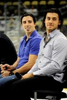 Marc-Andre Fleury and Kris Letang...that's 2 hot French Canadians right there!!!1
