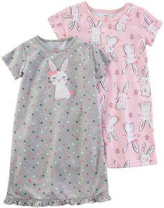 d753e5656e Carter s Short Sleeve Nightgown-Preschool Girls - JCPenney