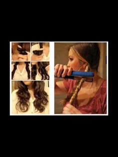 Soft Waves With Straightener !