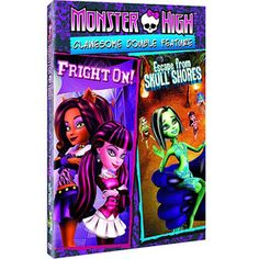 Monster High: Clawesome Double Feature - Escape From Skull Shores / Fright On (Anamorphic Widescreen)