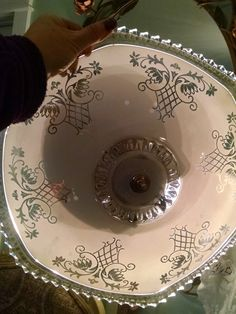 light fixture,  ceiling mount, 1930's light fixture, ceiling light, vintage glass dome, ornate light fixture, ceiling fixture, ceiling by Vintagepetalpushers on Etsy