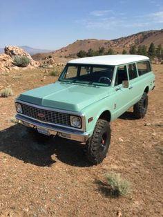 1971 Suburban 67 72 Chevy Truck, Jeep Truck, Chevrolet Trucks, Gm Trucks, Cool Trucks, Pickup Trucks, Panel Truck, Chevrolet Suburban, Chevy Pickups