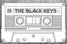 Afbeeldingsresultaat voor black keys logo