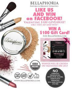 Bellaphoria Organic Mineral Makeup Gluten free & corn free makeup