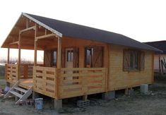 Casute din lemn & Casute de gradina Dog Trot House, Home Fashion, Cabana, Tiny House, Shed, Outdoor Structures, House Styles, Interior, Outdoor Decor