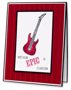 How about an Epic Celebration! - Red Guitar Jamming!