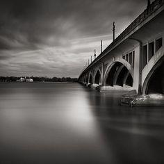 The Belle Isle Bridge Detroit Michigan USA