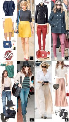 I love all these girls styles!