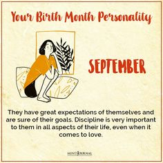 Birth Month Personality, Great Expectations, Did You Know, Knowing You, Things To Come, Life