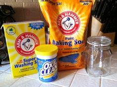 DIY Cloth Diaper Detergent...good for HE Washer