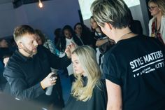 KMS revealed its brand new campaign at a highly anticipated backstage event held at Victoria House in London. Hair Photography, London Photography, Victoria House, Editorial Hair, What's Your Style, Hair Shows, Cat Walk, Professional Photographer, Backstage