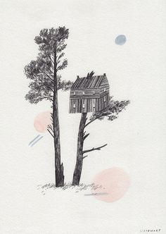 Treehouse by Lizzy Stewart, via Flickr
