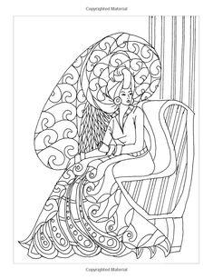 Amazon.com: Tranquil Tresses: Coloring Book (9781540756176