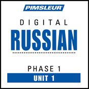 I finished listening to Russian Phase 1, Unit 01: Learn to Speak and Understand Russian with Pimsleur Language Programs by Pimsleur, narrated by Pimsleur on my Audible app.  Try Audible and get it free.