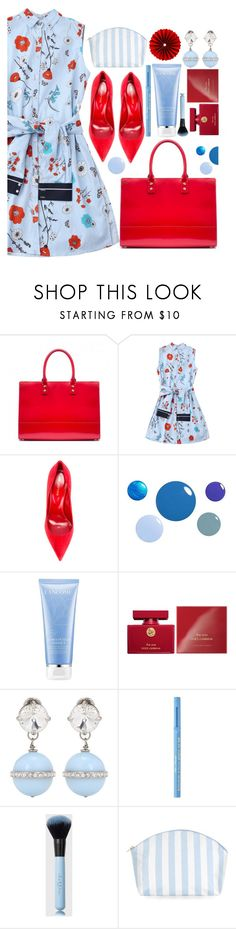 """: )"" by sunnydays4everkh ❤ liked on Polyvore featuring Lulu Guinness, Sergio Rossi, Dolce&Gabbana, Miu Miu, Too Faced Cosmetics and Catherine & Jean"