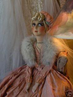 Antique Lenci Boudoir Doll