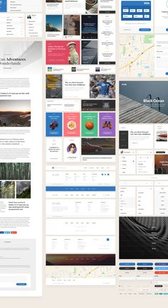 The awesome Silk UI Kit is now available for Photoshop CC+, Sketch 3.4+.UI Kit contains 11 categories:Blog/magazine, Media, Widgets, Ecommerce, Forms, Navigation, Articles, Headers, Footers, Base and Samples.