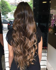 New makeup wedding brunette long bobs 37 Ideas Brown Hair Balayage, Ombre Hair, Brown Hair Inspiration, Very Long Hair, Brunette Hair, Gorgeous Hair, Hair Looks, Hair Inspo, Dyed Hair