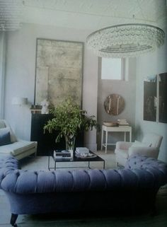 andrew corrie & harriet maxwell macdonald's house via elements of style, originally published in Elle Decor