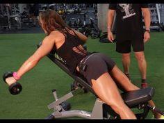 Erin Stern Shoulder Workout [Rear Delts]