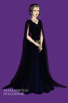 Nyx, Goddess of Night (Human) by disneyfanart1998