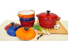 We've got cast iron in all colors at great prices arriving weekly! #BurkesOutlet