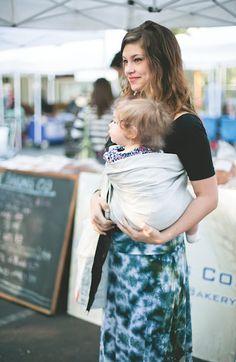 bekah and luna STYLE #babywearing