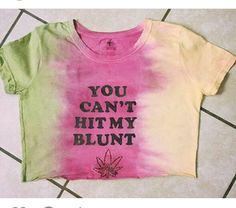 Rasta Weed Quote Top by BadNation on Etsy