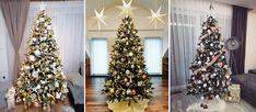 Ako ozdobiť vianočný stromček? Trendy vo výzdobe vianočného stromčeka pre rok 2020. Bielo zlatý ? Červeno biely ? Či pudrovo ružový vianočný stromček ? Trendy, Christmas Tree, Holiday Decor, Home Decor, Teal Christmas Tree, Decoration Home, Room Decor, Xmas Trees, Christmas Trees