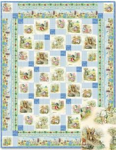Garden Tales: Blue Fabric by Frederick Warne and Co.