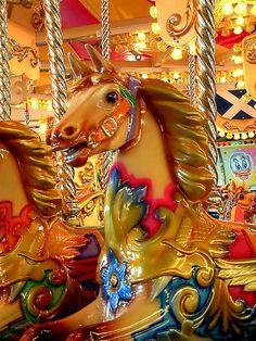This has to be the most beautiful carousel on earth -- my favorite!     (Brighton Pier, Walton on Naze, Essex, England)