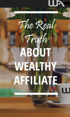 Have you heard of Wealthy Affiliate, a platform for learning affiliate marketing - a way to monetise your website, or to build an online business from scratch? Well find out the real truth here and what it's really like if you join.
