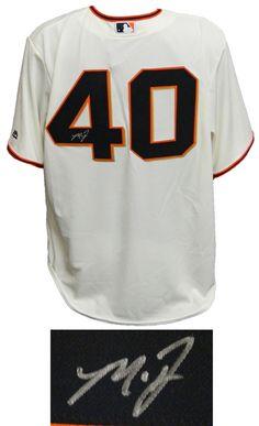 Madison Bumgarner Signed San Francisco Giants Tan Majestic Replica Jersey -  Schwartz COA 58bd4a069