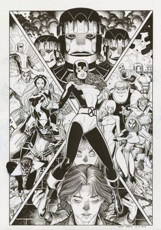 Marvel Comics of the 1980s, X-Men by Arthur Adams.