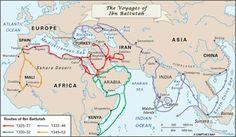 Ibn Battuta Map