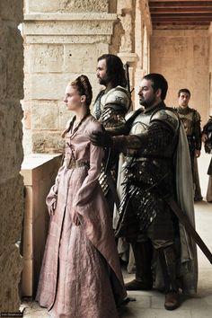 Sansa Stark and The Hound