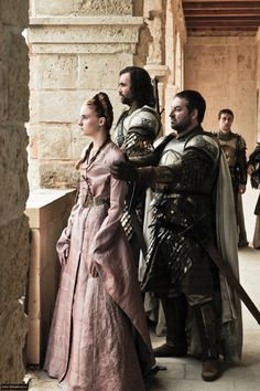 Sansa Stark and The Hound