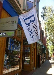 Bookstore of Integrity -- Brilliant Books   Your Long Distance Local Bookstore -- Traverse City, MI -- where customers were allowed to return and receive a refund for Go Set a Watchman by Harper Lee.