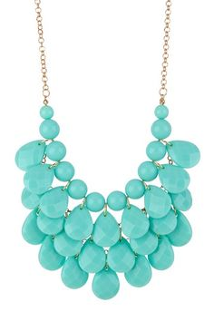 Teardrop Statement Necklace on HauteLook